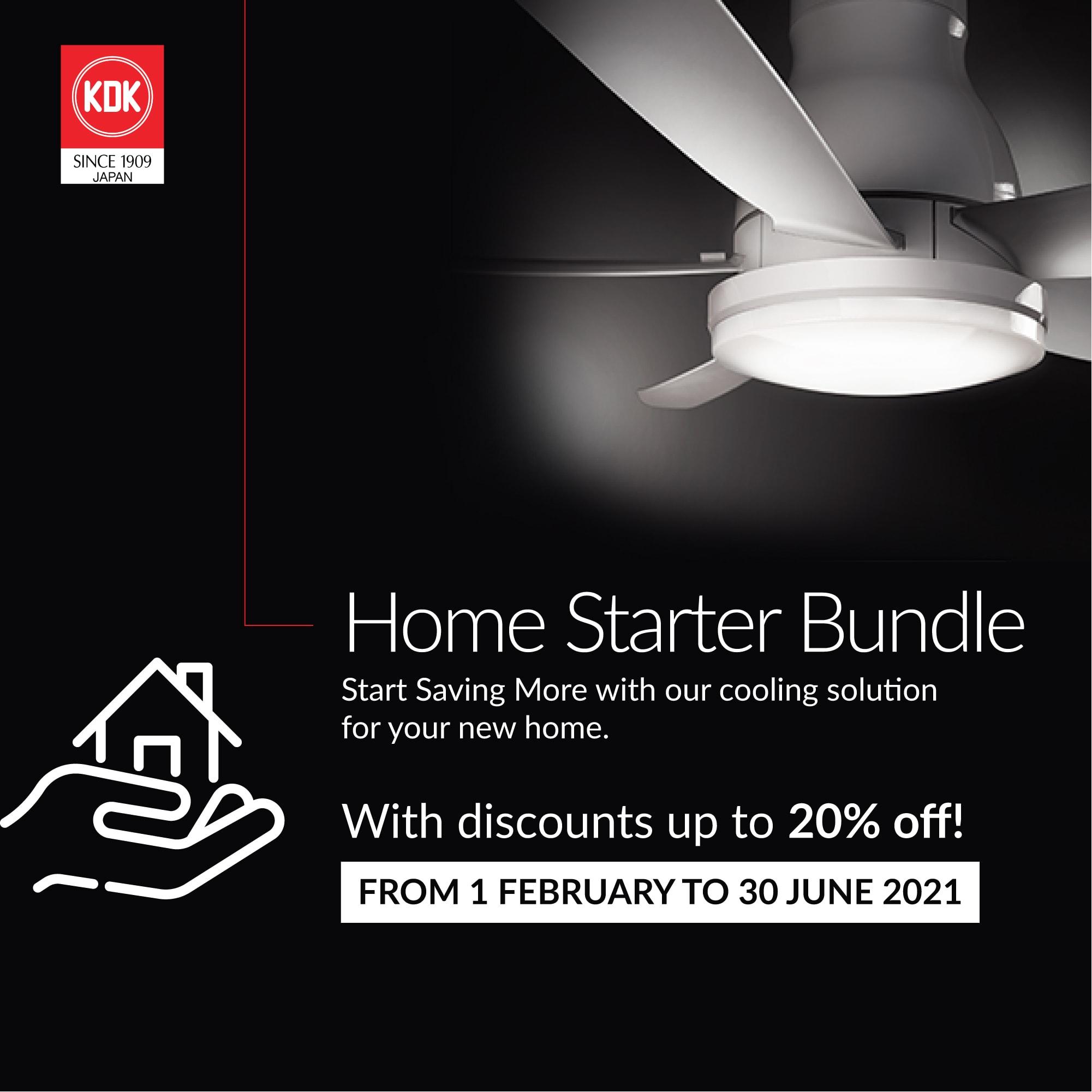 KDK Home Starter Kit Bundle Promotion